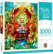 Masterpieces Puzzle Classic Fairy Tales Alice in Wonderland Tea Party Time Puzzle 1,000 pieces | Merchandise