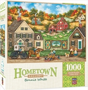 Masterpieces Puzzle Hometown Gallery Great Balls of Yarn Puzzle 1,000 pieces   Merchandise