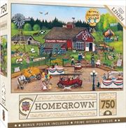 Masterpieces Puzzle Homegrown Country Pickens Puzzle 750 pieces | Merchandise