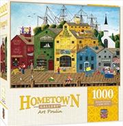 Masterpieces Puzzle Hometown Gallery Crows Nest Harbor Puzzle 1,000 pieces   Merchandise