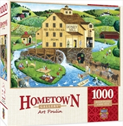 Masterpieces Puzzle Hometown Gallery Honey Mill Puzzle 1,000 pieces   Merchandise