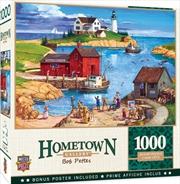 Masterpieces Puzzle Hometown Gallery Ladium Bay Puzzle 1,000 pieces   Merchandise