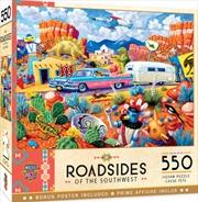 Masterpieces Puzzle Roadside of the Southwest Off the Beaten Path Puzzle 550 pieces | Merchandise