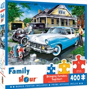 Masterpieces Puzzle Family Hour Three Generations Ez Grip Puzzle 400 pieces | Merchandise