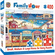 Masterpieces Puzzle Family Hour Ocean Park Ez Grip Puzzle 400 pieces | Merchandise