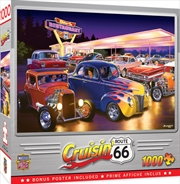Masterpieces Puzzle Cruisin Friday Night Hot Rods Puzzle 1,000 pieces | Merchandise