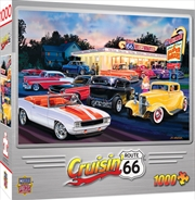 Masterpieces Puzzle Cruisin Dogs and Burgers Puzzle 1,000 pieces | Merchandise