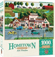 Masterpieces Puzzle Hometown Gallery The Old Filling Station Puzzle 1,000 pieces   Merchandise