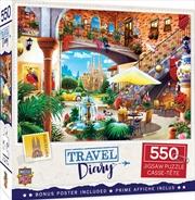 Masterpieces Puzzle Travel Diary Barcelona Puzzle 550 pieces | Merchandise