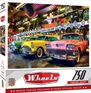 Masterpieces Puzzle Wheels Three Beauties Puzzle 750 pieces | Merchandise