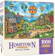 Masterpieces Puzzle Hometown Gallery Passing Through Puzzle 1,000 pieces   Merchandise