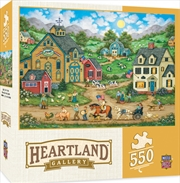 Masterpieces Puzzle Heartland Collection Liberty Farm Parade Puzzle 550 pieces | Merchandise