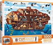 Masterpieces Puzzle Cutaway Noah's Ark Ez Grip Puzzle 1,000 pieces | Merchandise