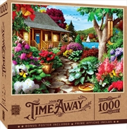 Masterpieces Puzzle Time Away Dragonfly Garden Puzzle 1,000 pieces | Merchandise