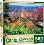 Masterpieces Puzzle National Parks Grand Canyon North Rim Puzzle 550 pieces | Merchandise