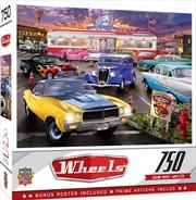 Masterpieces Puzzle Wheels Runner's Up Puzzle 750 pieces | Merchandise