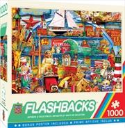 Masterpieces Puzzle Flashbacks Antiques & Collectibles Puzzle 1,000 pieces | Merchandise