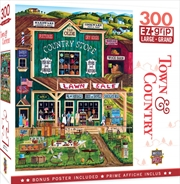 Masterpieces Puzzle Town & Country The Old Country Store Ez Grip Puzzle 300 pieces | Merchandise