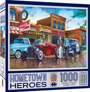 Masterpieces Puzzle Hometown Heroes A Little Too Loud Puzzle 1,000 pieces   Merchandise