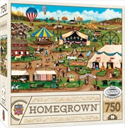 Masterpieces Puzzle Homegrown Country Fair Puzzle 750 pieces | Merchandise