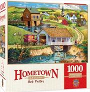 Masterpieces Puzzle Hometown Gallery Last Swim of Summer Puzzle 1,000 pieces   Merchandise