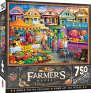 Masterpieces Puzzle Farmers Market Weekend Market Puzzle 750 pieces | Merchandise