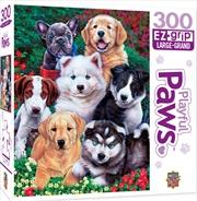Masterpieces Puzzle Playful Paws Fluffy Fuzzballs Ez Grip Puzzle 300 pieces | Merchandise