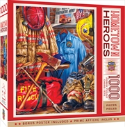 Masterpieces Puzzle Hometown Heroes Fire and Rescue Puzzle 1,000 pieces   Merchandise