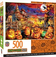 Masterpieces Puzzle Halloween Glow All Hallow's Eve Puzzle 500 pieces | Merchandise