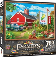Masterpieces Puzzle Farmers Market Country Heaven Puzzle 750 pieces | Merchandise