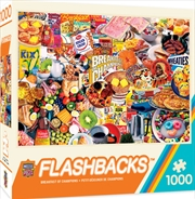 Masterpieces Puzzle Flashbacks Breakfast of Champions Puzzle 1,000 pieces | Merchandise
