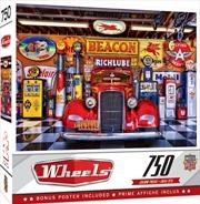 Masterpieces Puzzle Wheels At Your Service Puzzle 750 pieces | Merchandise