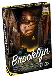 Crime Scene Game Brooklyn 2002 | Merchandise