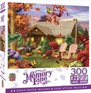 Masterpieces Puzzle Memory Lane Autumn Warmth Ez Grip Puzzle 300 pieces | Merchandise