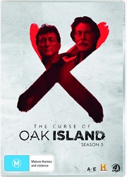 Curse Of Oak Island - Season 5, The | DVD