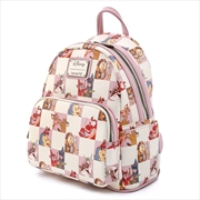 Loungefly - Disney - Rose Checker Mini Backpack | Apparel
