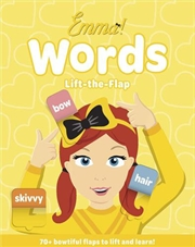 Emma Favourite Words Flap Book | Board Book