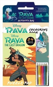 Raya And The Last Dragon Activity Bag | Paperback Book