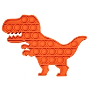 Orange Dino Push And Pop | Toy