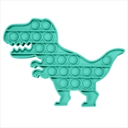 Teal Dino Push And Pop | Toy