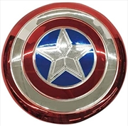 """Electroplated Metal 12"""" Shield Childrens Costume Accessory 
