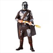 Mandalorian Deluxe: One Size Costume | Apparel
