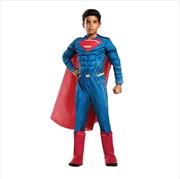 Superman Dlx Lenticular: 6-8 | Apparel