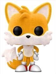 Sonic The Hedgehog - Tails Flocked Pop! Vinyl | Pop Vinyl
