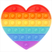 Rainbow Heart Push And Pop | Toy