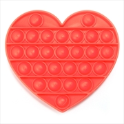 Red Heart Push And Pop | Toy