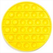 Yellow Round Push And Pop | Toy
