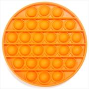 Orange Round Push And Pop | Toy