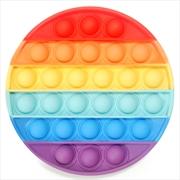 Rainbow Round Push And Pop | Toy
