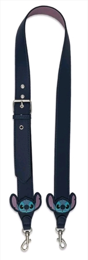 Loungefly - Lilo & Stitch - Stitch Head Applique Bag Strap | Apparel